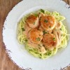 Zoodles & Spicy Alfredo Sauce