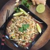 Chicken Pad Thai using Miracle Noodles